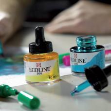 Краска акварельная жидкая Ecoline 30мл