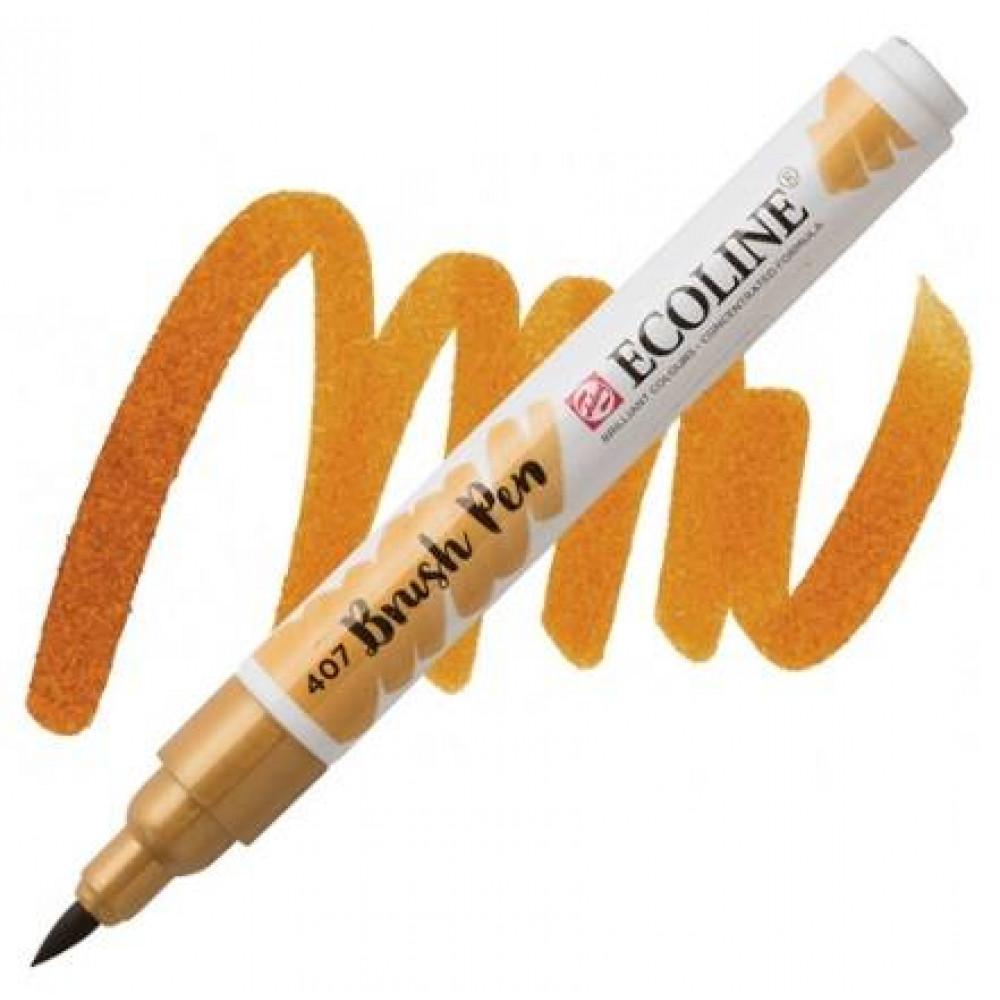 ECOLINE Brush Pen Охра темная 407