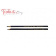 Карандаши FABER-CASTEL 2B GOLDFABER сине-золотой - 112502 FABER-CASTEL Германия