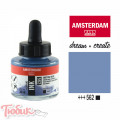 Тушь акриловая AMSTERDAM INK, (562) Серо-голубой, 30мл, Royal Talens
