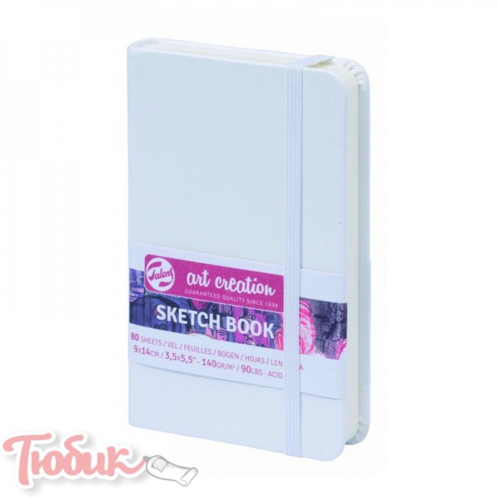 Блокнот для графики Talens Art Creation 140г/м² 9х14см, 80л, белый, Royal Talens