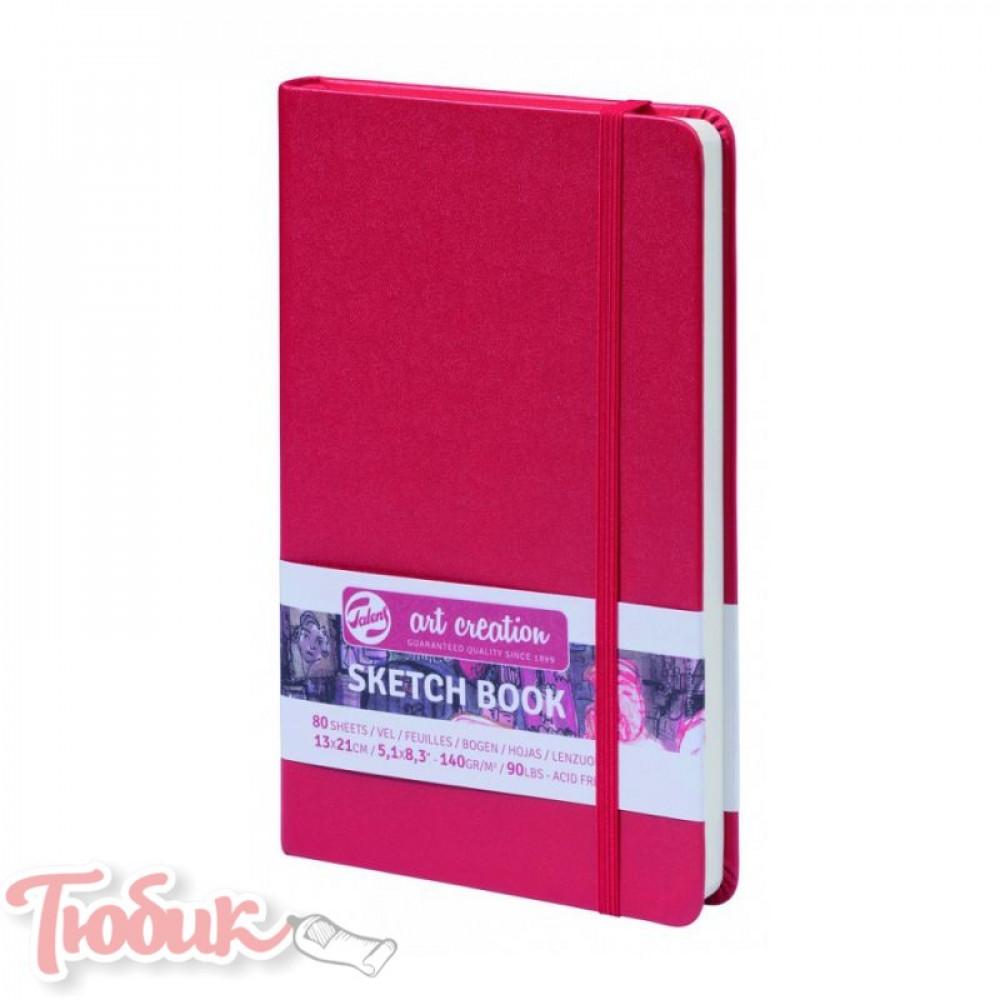 Блокнот для графики Talens Art Creation 140г/м² 13х21см, 80л, красный, Royal Talens