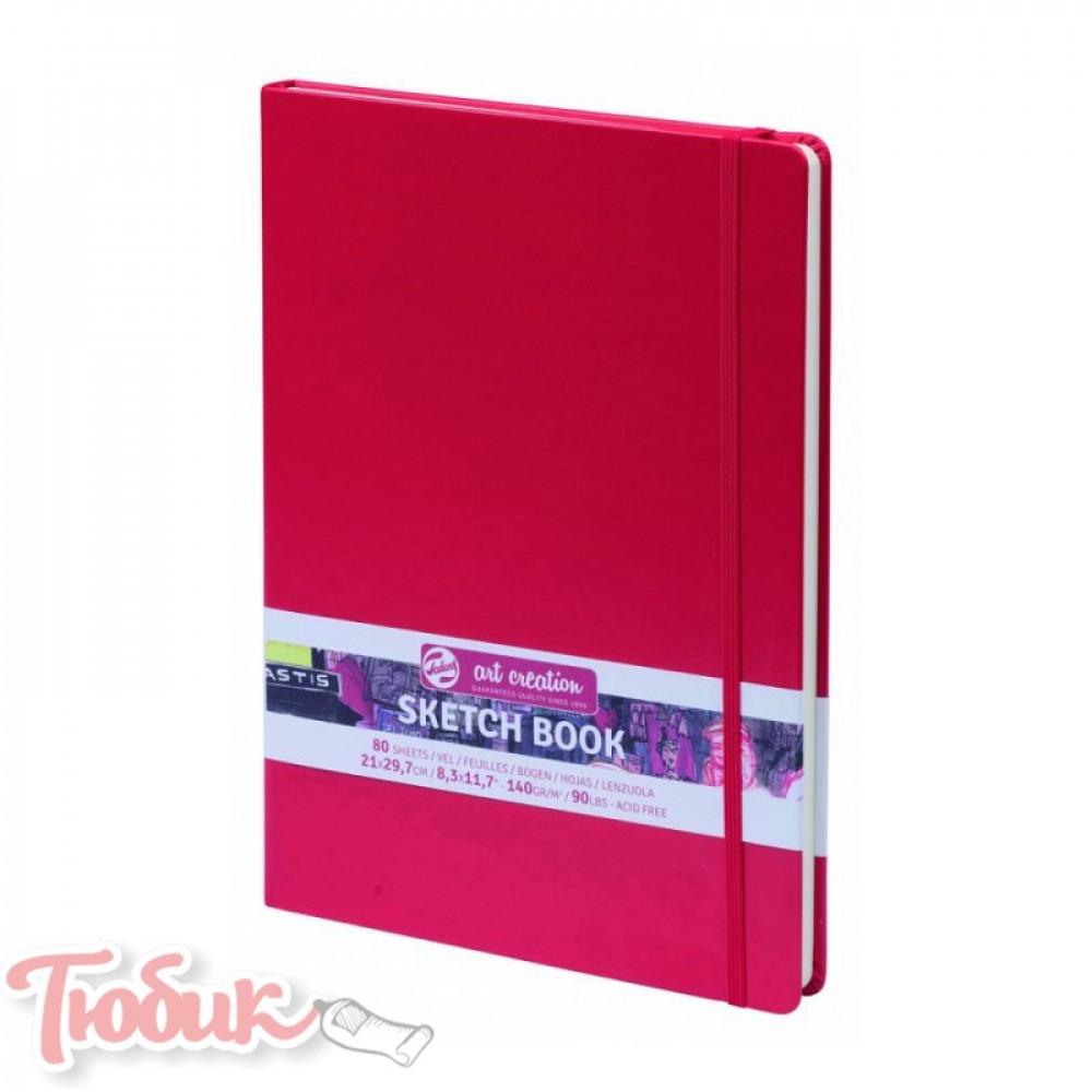 Блокнот для графики Talens Art Creation 140г/м² 21х29,7см, 80л, красный, Royal Talens