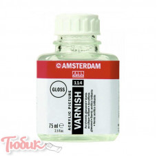 Лак для акриловых красок AMSTERDAM, глянцевый, 75мл, Royal Talens