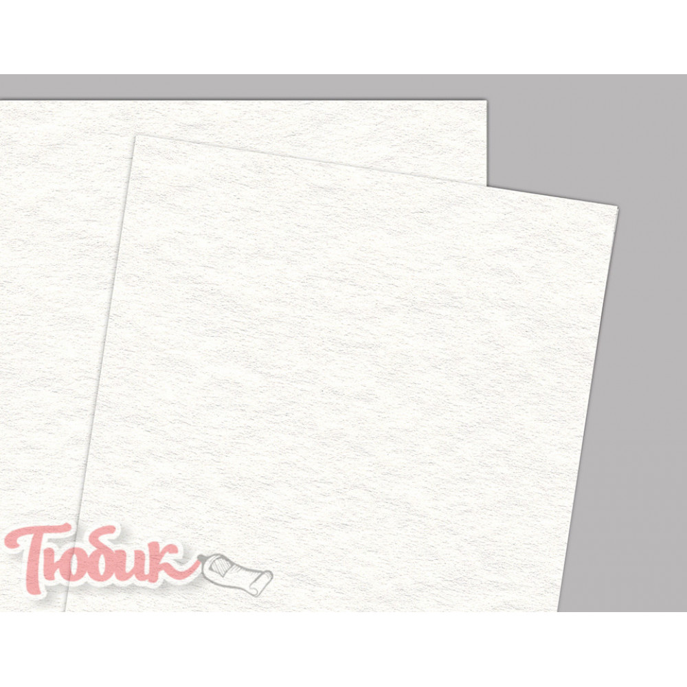 Бумага акварельная Torchon B2 (50*70см), 270г/м², белая, крупное зерно,Fabriano