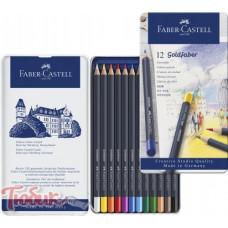 Карандаши цветные Goldfaber 12 цветов,Faber-Castell