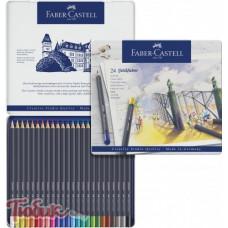Карандаши цветные Goldfaber 24 цвета,Faber-Castell