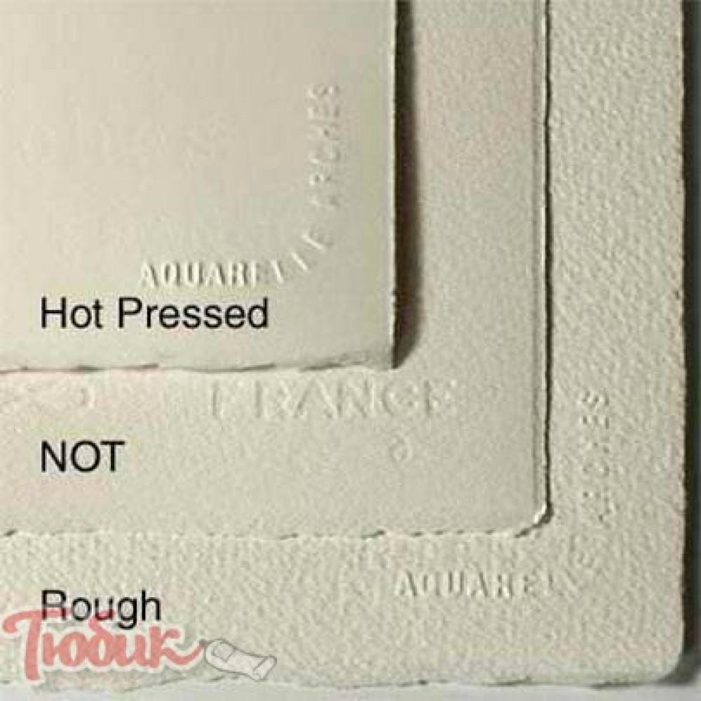 Бумага акварельная 100% хлопок холодного прессования Arches Cold Pressed, 56x76 см,185гр