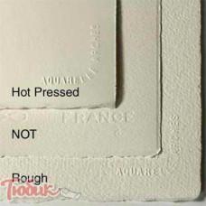 Бумага акварельная 100% хлопок горячего прессования Arches Hot Pressed, 56x76 см,185гр