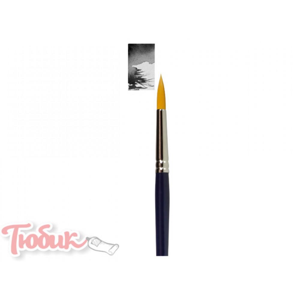 Кисть Van Gogh серия 191 для акварели синтетика круглая №0 короткая ручка
