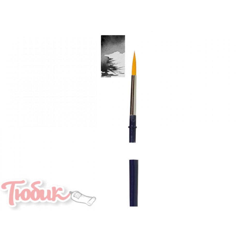Кисть Van Gogh серия 180 акварельная для путешествий синтетика плоская №6 короткая ручка