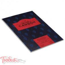 Альбом для акварели Canson Heritage, горячего пресования, 300 гр, 23х31 см, 12 листов,100%хлопок