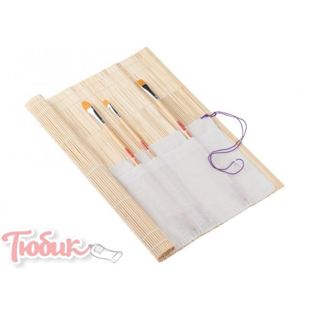 Пенал для кистей бамбуковый Royal Talens