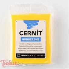 Полимерная глина CERNIT 56г, желтый 700