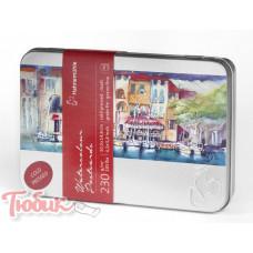 Открытки Watercolour Postcards металлический бокс, cold pressed 230г , 10.5x14.8 , 30 листов Код: 10650150