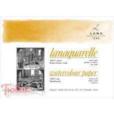 Бумага акварельная 100% хлопок Hahnemuhle Lanaquarelle hot pressed, 300г hot pressed , 56x76 см , лист Код: 15023400