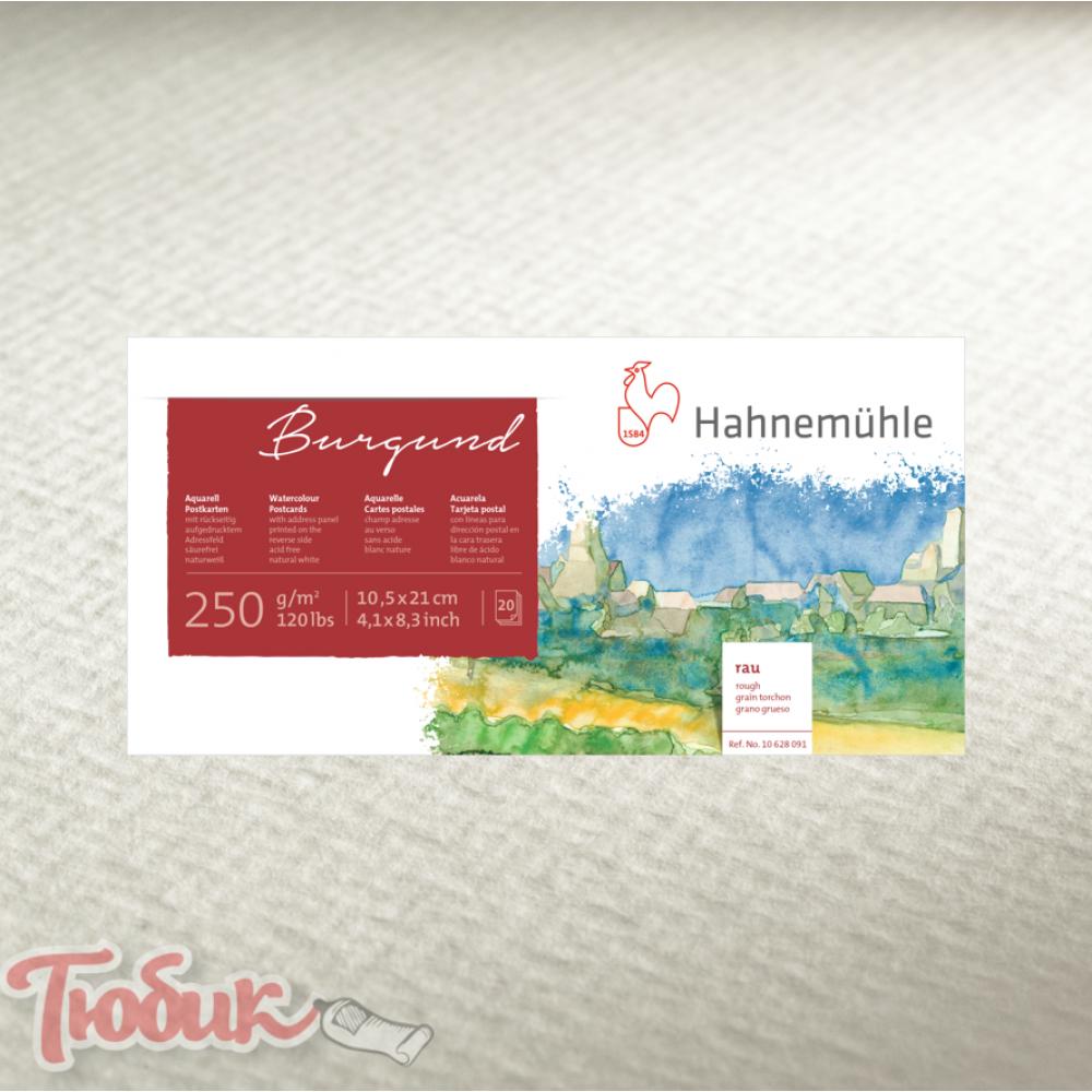 Открытки Postcard Pad rough 250г , 10,5x14,8см , 20 листов