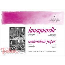 Бумага акварельная 100% хлопок Hahnemuhle Lanaquarelle 300 г/м² rough, 56 x 76 см, лист